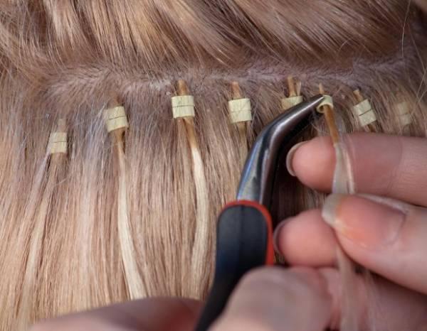 Kako se vrši nadogradnja kose perlicama?