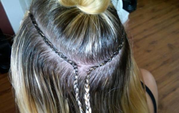 Kako se radi nadogradnja kose šivenjem?