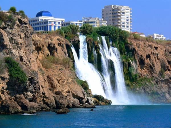 Vodopad Duden u Antaliji