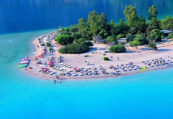 Fetija - pogled na plažu iz vazduha