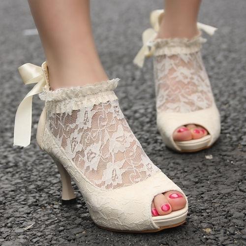 bele cipele za svadbu