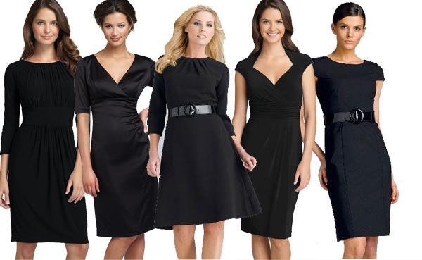 crne haljine za posao