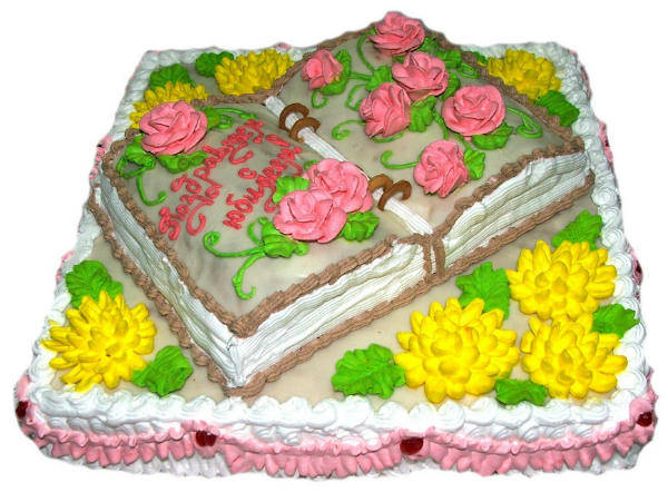 izrada torte knjige