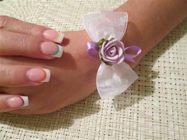 kako napraviti cvetice za svatove 5