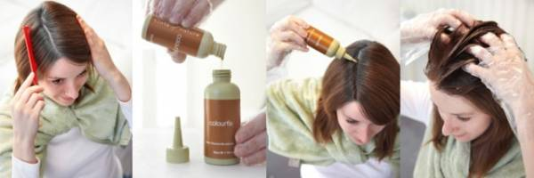 Upotreba kolor šampona