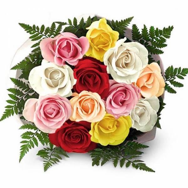 buket cveća za devojku