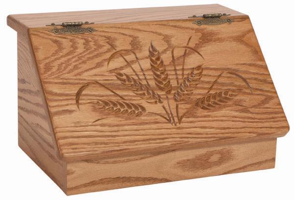 kutija hleb drvena