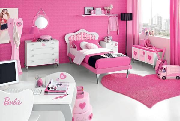 soba za devojcice u potkrovlju