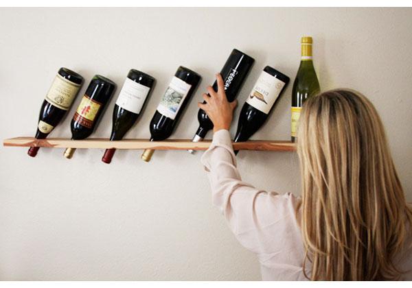 zidne police za flaše