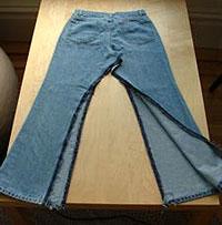 suknja isecanje nogavica