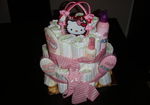 torta od pelena za bebe