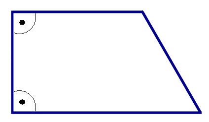 trapez pravougli