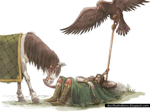Marko Kraljevic i orao
