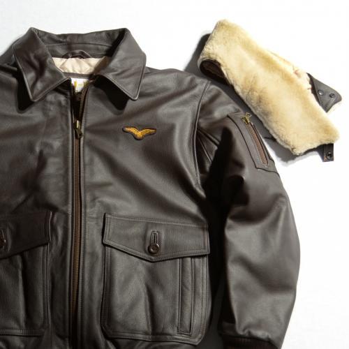 pilotska kozna jakna 2