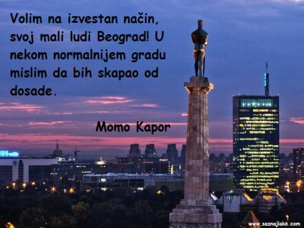 Momo Kapor - citati