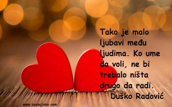 Citati o ljubavi - Duško Radović