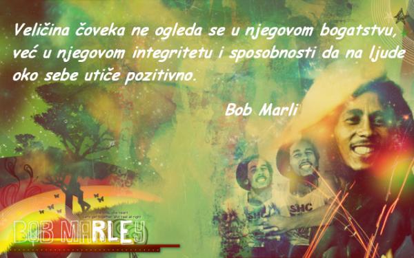 Bob Marli - citati o ljudima