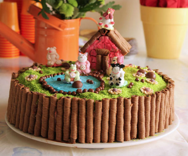 neobicna dekoracija torte