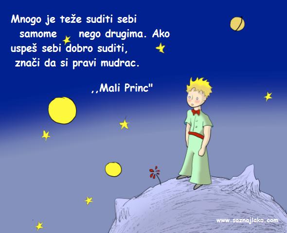 """Citati iz romana ,,Mali Princ"""""""
