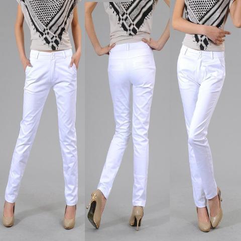Bele pantalone - odeća za svaku priliku