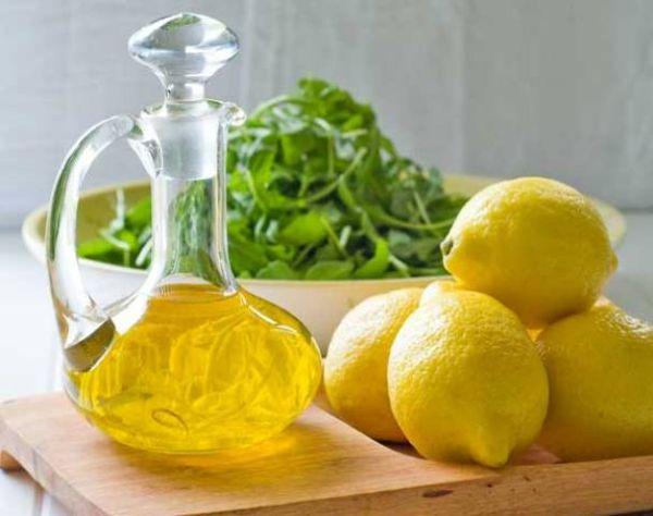 Maska od limuna i maslinovog ulja