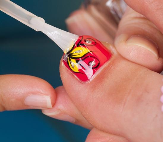Nadogradnja i nanošenje crvenog gela