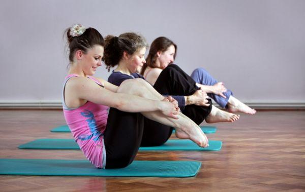 Pilates možete raditi i kod kuće, bez lopte.