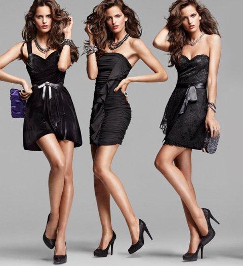 crna haljjina crne cipele