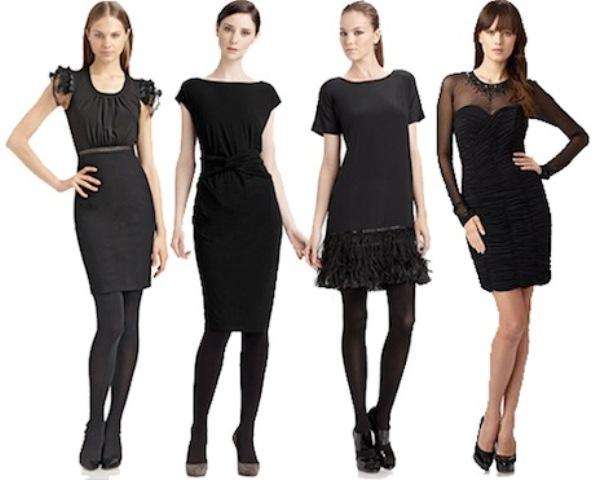 Kako nositi crnu haljinu?