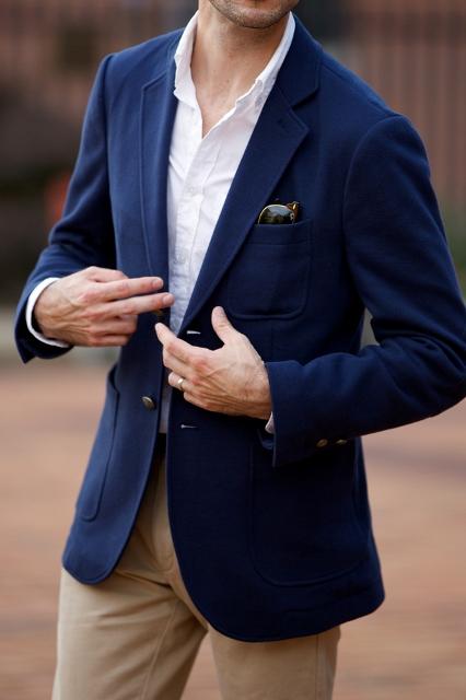 Muški plavi sako