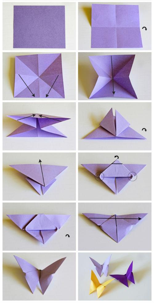 origami leptir