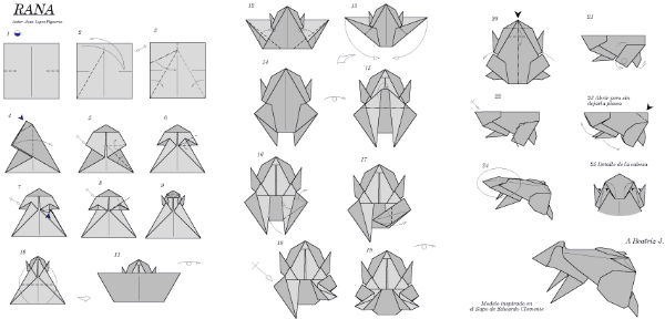 origami zaba