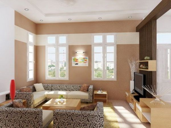 Dnevnoj sobi će pastelne boje dati dosta svetlosti