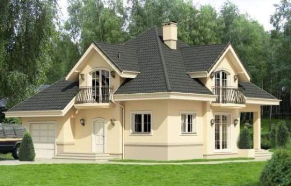 Kada birate boju za fasadu, vodite računa da vam kuća ne bude kičasta.