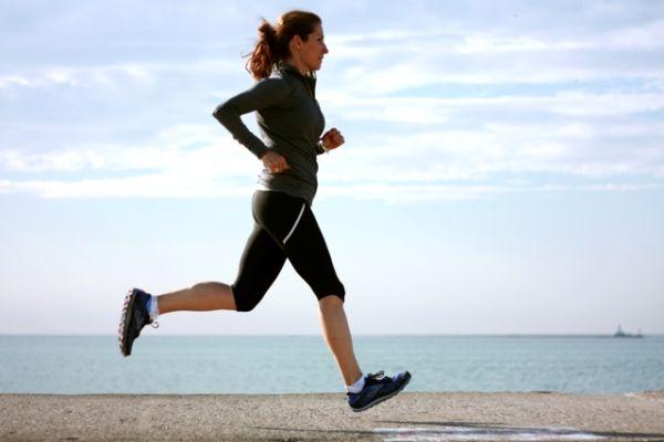 Trčanjem se takođe može zategnuti telo.