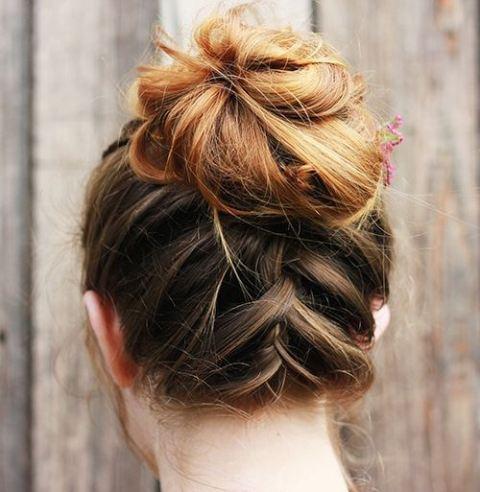 Posignute frizure za poludugu kosu.