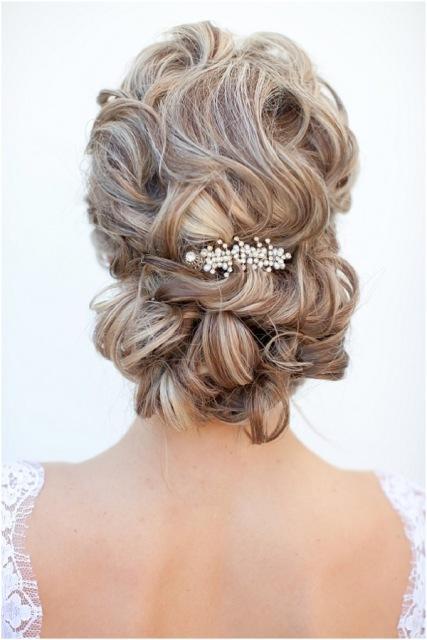 podignute frizure za svadbu